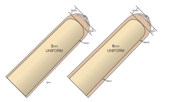 EZF   Cross Section Diagram